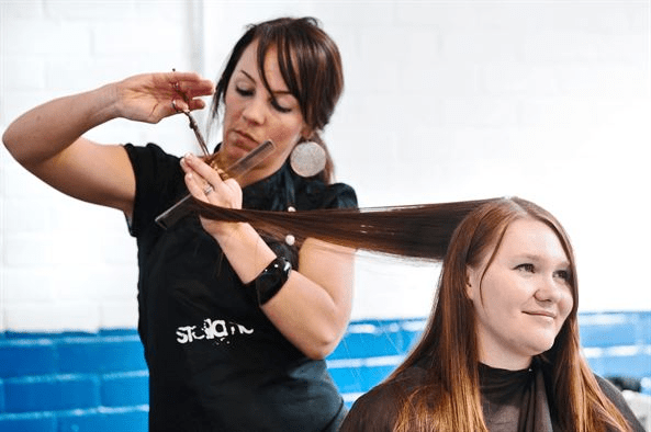 Easily book a salon appointment