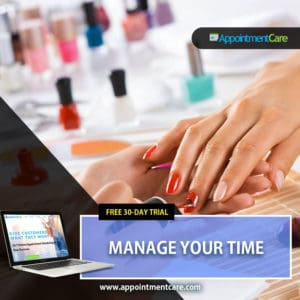 Manage Your Time Nail